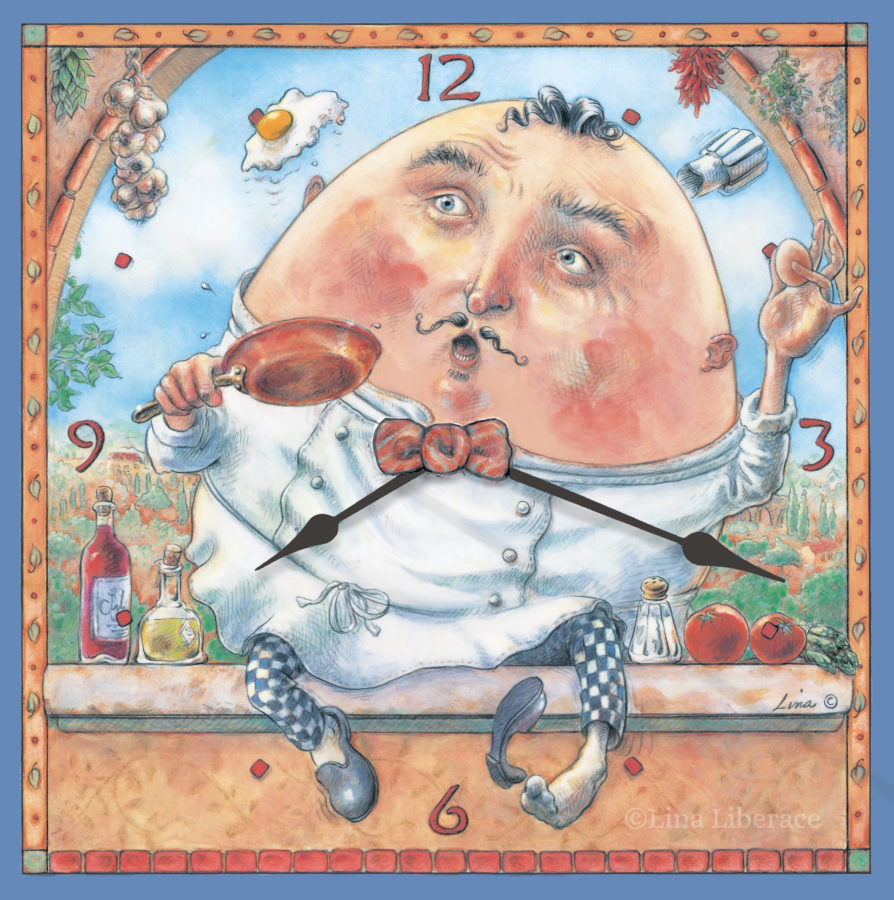 Gourmet Chef Humpty Dumpty