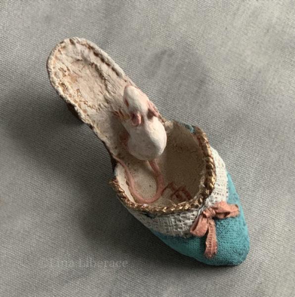 Paperclay shoe, Lina Liberace